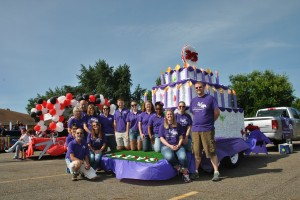 Float with staff&volunteers